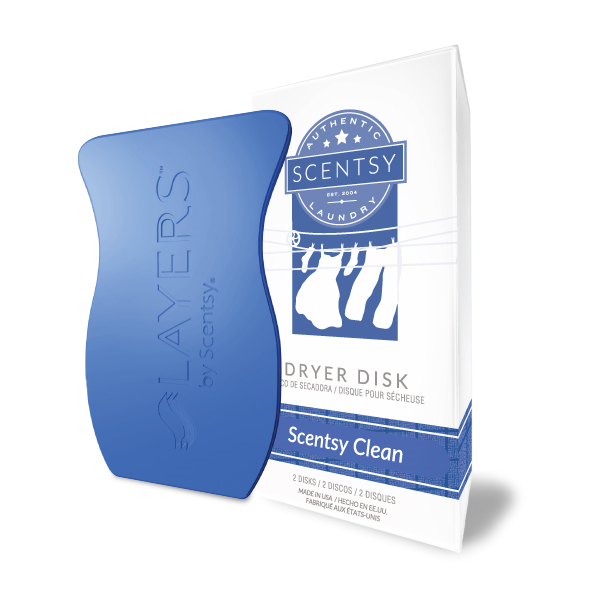 Scentsy Clean Dryer Disk